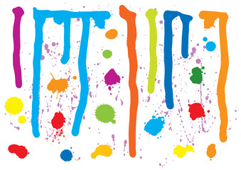 Paint Splatters (XXL, clipping path)