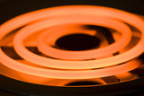 Close-up image of an electric range heating element poster