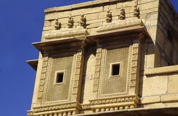 Salim Singh Ki Haveli. Jaisalmer, Rajasthan, India.