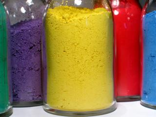 Pigments de couleur