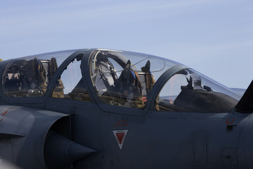 Cockpit of a Mirage 200GBM