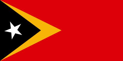 Flag - Timor East