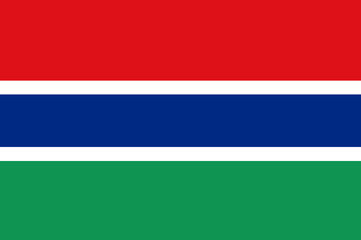 Flag - Gambia