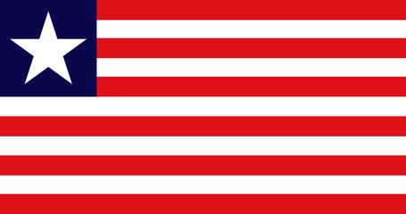 Flag - Liberia