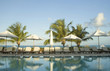 swimming pool at luxury resort  bahamas