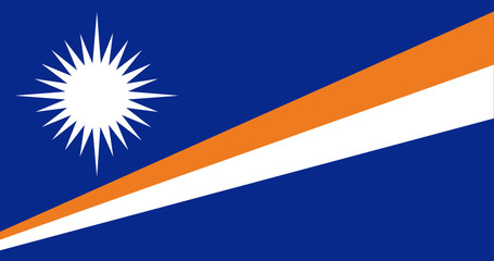 Flag - Marshall Islands