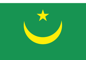Flag - Mauritania