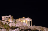 historic acropolis athens greece parthenon poster