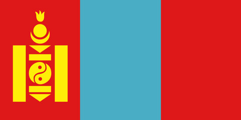 Flag - Mongolia
