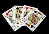 Cards. Gambling. Game. Four Jacks/knaves. Four suites poster