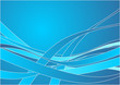 Abstract blue pattern over gradient background