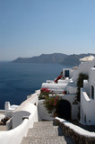 incredible greek island scene  cycladic architecture