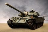 Soviet tank poster