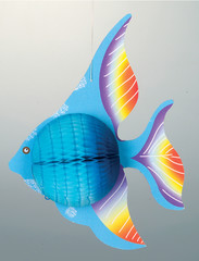 paper fish deco