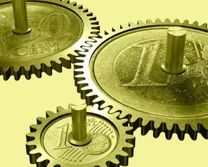 Wirtschaftsmotor Geld