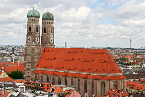The cathedral, of Munich, Frauenkirche