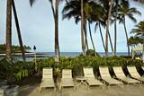 Morning at Hawaiian Resort on Kona Island poster