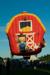Farmhouse Hot Air Balloon