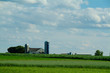 Amish Farm and cornfield in Lancaster PA