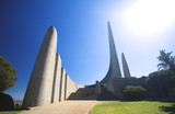 Famous landmark of the Afrikaans Language Monument in Paarl poster