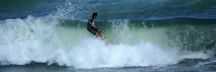 chutte de surfeur