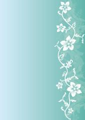 Fond Fleur et plante