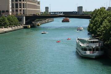 Chicago River Traffic