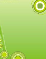 Marco verde limon
