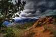 Garden Of The Gods Colorado with Storm clouds