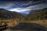 Rocky Mountain National Park  in HDR poster