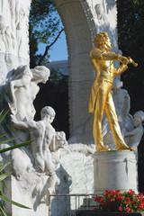 Johann Strauss und Fauen