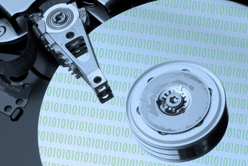 modern hard disc drive
