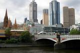 Melbourne downtown, Australia poster