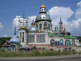 Russia, Kazan, the home of all religions  poster