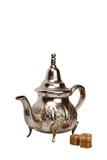 Moroccan tea-pot poster