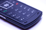 Cellphone keypad poster