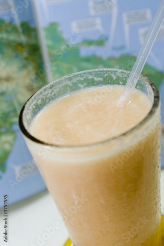 fresh fruit melon drink  santo domingo dominican republic