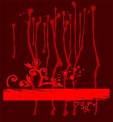 Grunge claret background