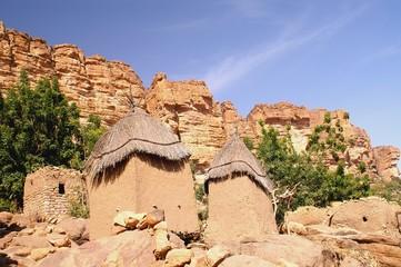 Kornspeicher der Dogon, Mali