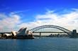 Quadro Sydney Opera House and Harbour Bridge..