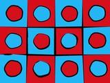 Abstract circles and squares - 3763953