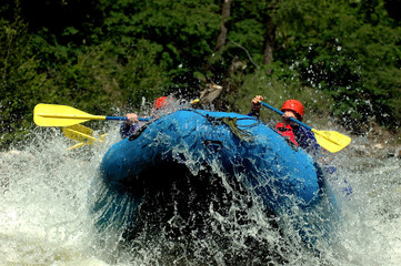 Rafting Lift Off!