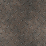 a large sheet of dirty and grungy diamond metal tread plate poster