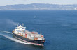 Cargo Boat in San Francisco Bay