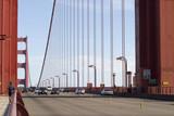 Golden Gate traffic and Runner poster