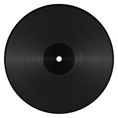 Illustration of a Vinyl Record, great as background..