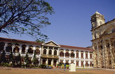 St. Cajetan's Church, Old Goa, India.
