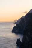 Sunset on Amalfi coast