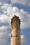 A high harmonous column in ancient port Caesaria  poster