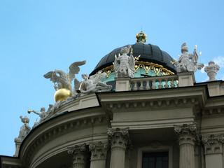 détail d'architecture du palais
